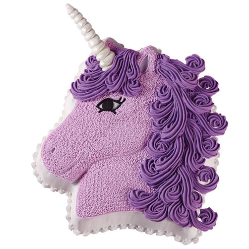 Purple Unicorn Cake