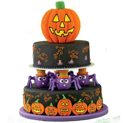 Spin a Scary Tale Cake