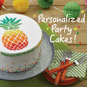 Personalized Party Cakes