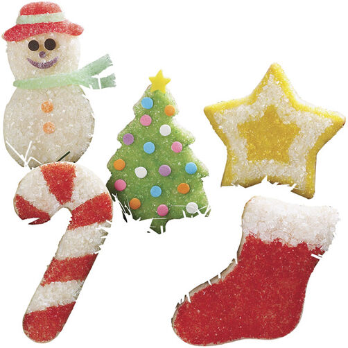 Seasonal Sparkle Cookies for Christmas