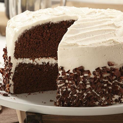 Black and Tan Cake