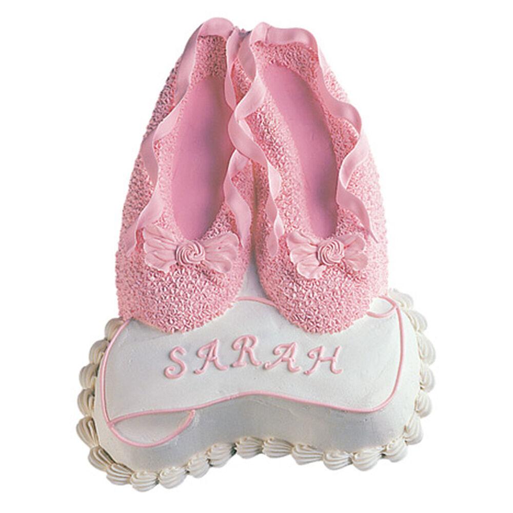 Ballet Slippers Cake Wilton