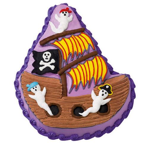 Ghost Ship Cake