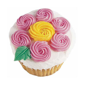 Pink Petal Cupcakes