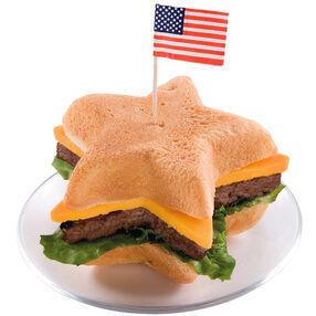 Red, White and BBQ! Hamburger