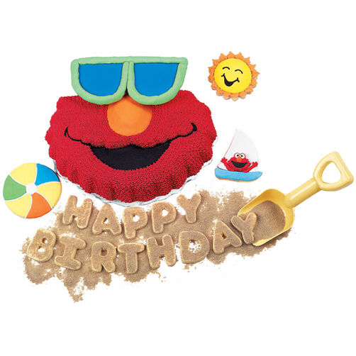 Fun In The Sun With Elmo Cake