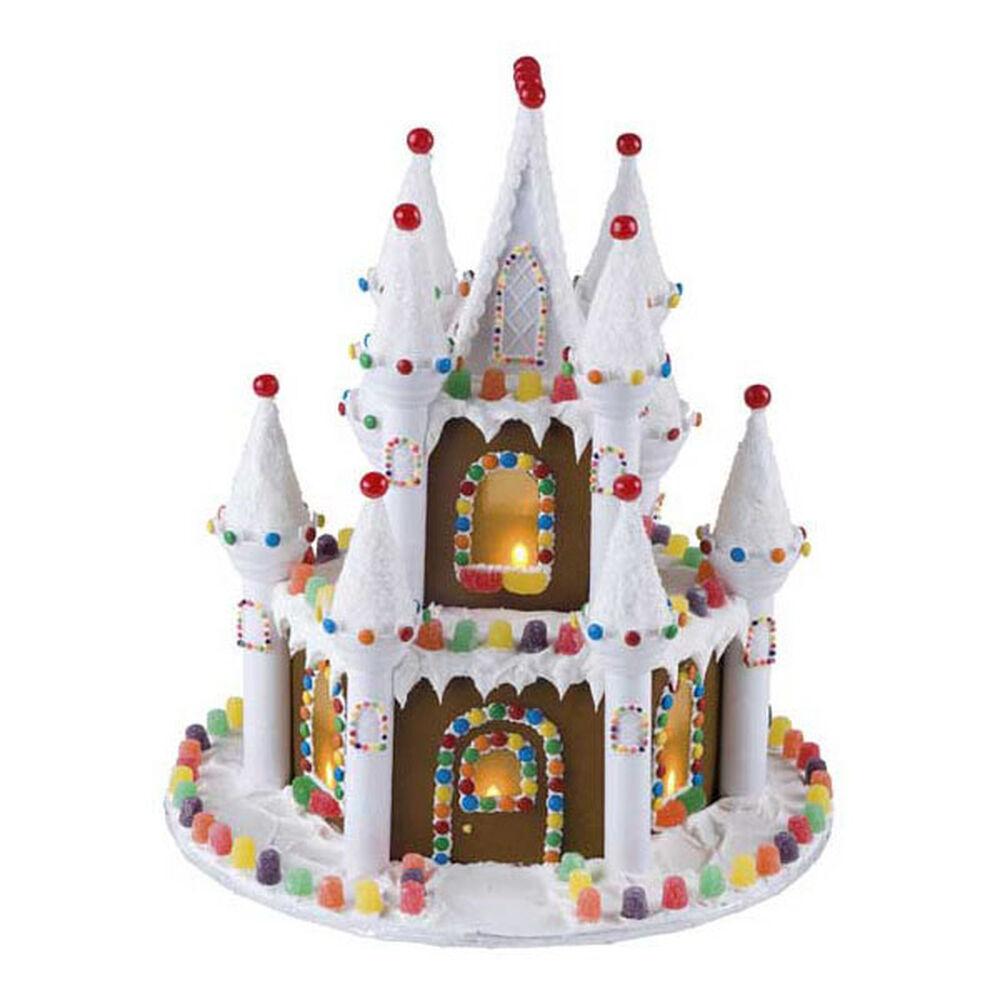 Illuminated Gingerbread Castle Wilton