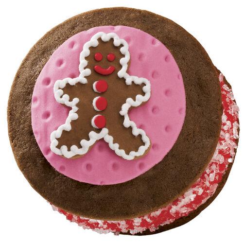 Gingerbread Man Whoopie Pies