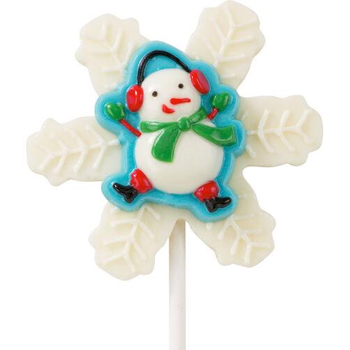 Snowman Pop To Go! Lollipops