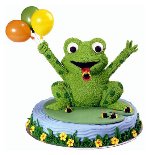 Lucky Leap Frog Cake