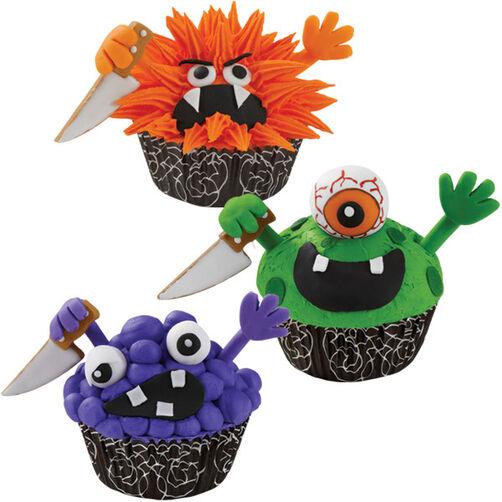 Sharp Character Cupcakes