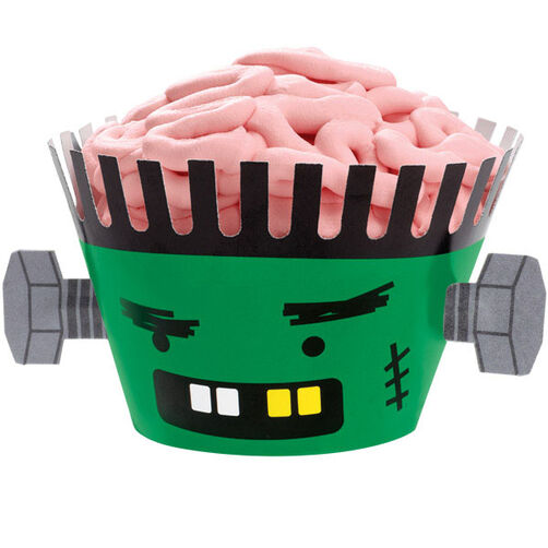 Brainy Monster Cupcakes