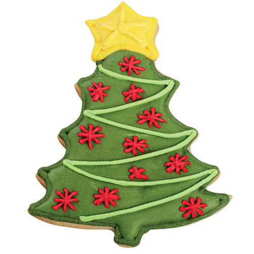 Garland Christmas Tree Cookie