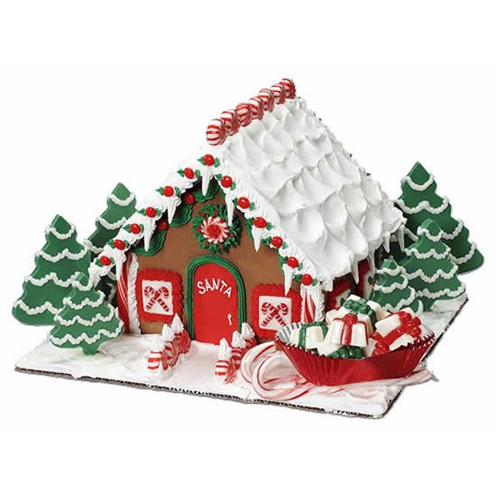 Santa Calls It Home Gingerbread House Wilton