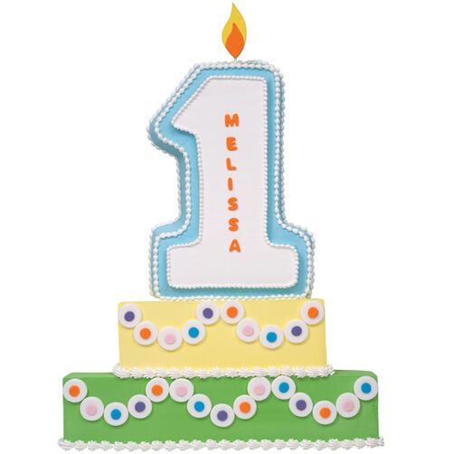 Celebrate One Year Cake