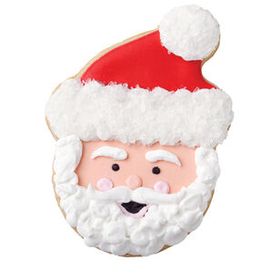 Sparkling Santa Cookie