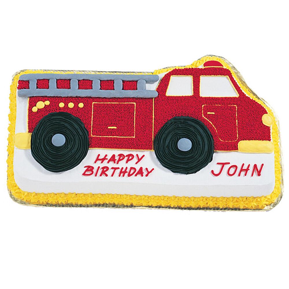 Fire Truck Cake Wilton