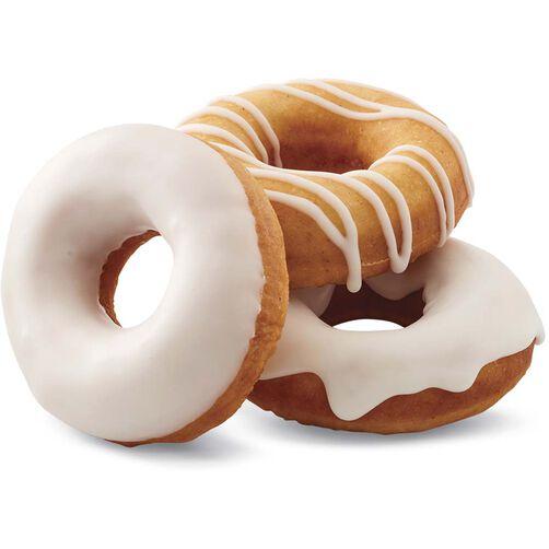 Vanilla Glazed Baked Cake Donut Recipe Wilton