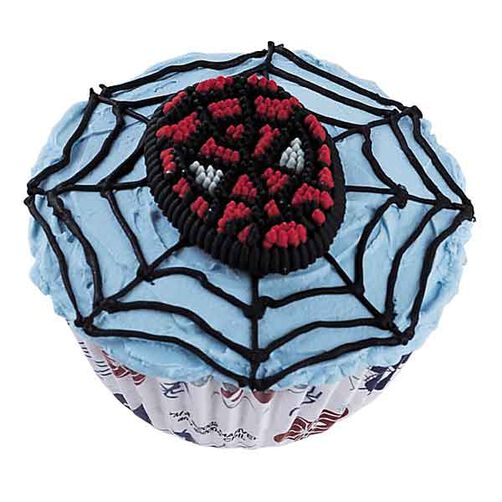 Web Slinger Cupcakes
