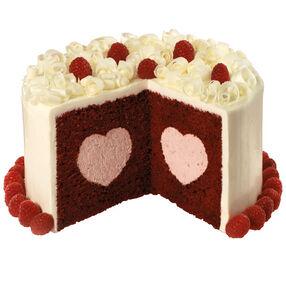 Red Raspberry Velvet Cake