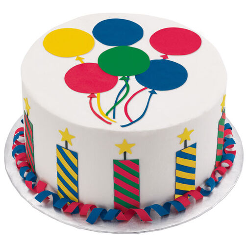 Party Sparkle Cake Wilton