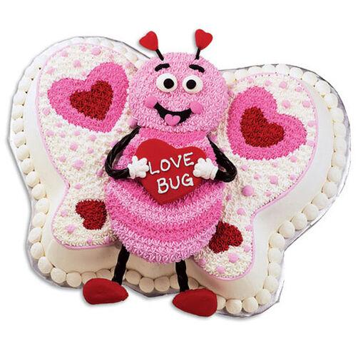 Making Hearts Flutter Cake