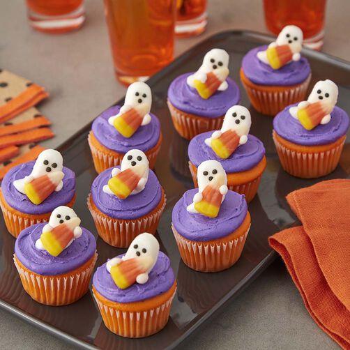 how to make a ghost cupcake cake