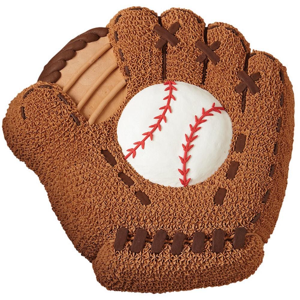 Baseball Mitt Cake Wilton
