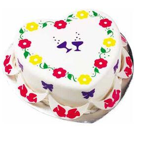 Heart's Delight Cake