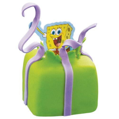 SpongeBob Unties A Surprise Mini Cakes