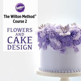 Wilton cake decorating class 2 book