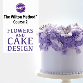 Course 2: Flowers & Cake Design