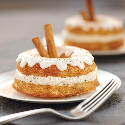 Apple Cider Baked Cake Donuts