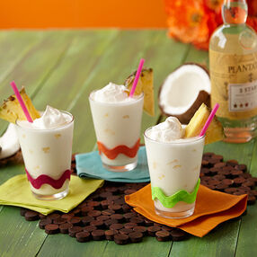 Pina Colada Milkshakes