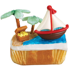 Treasure Cruise Mini Cake