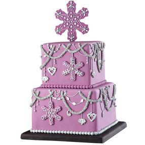 Winter Shimmer Cake