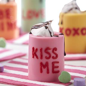 Conversation Heart Shot Glasses