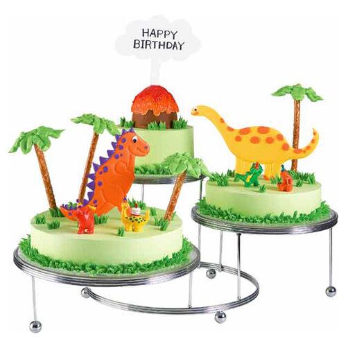 Lava-ble Dinosaurs Cake