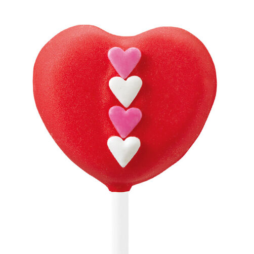 Four Hearts Red Pops