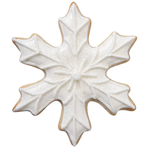 White Snowflake Cookie