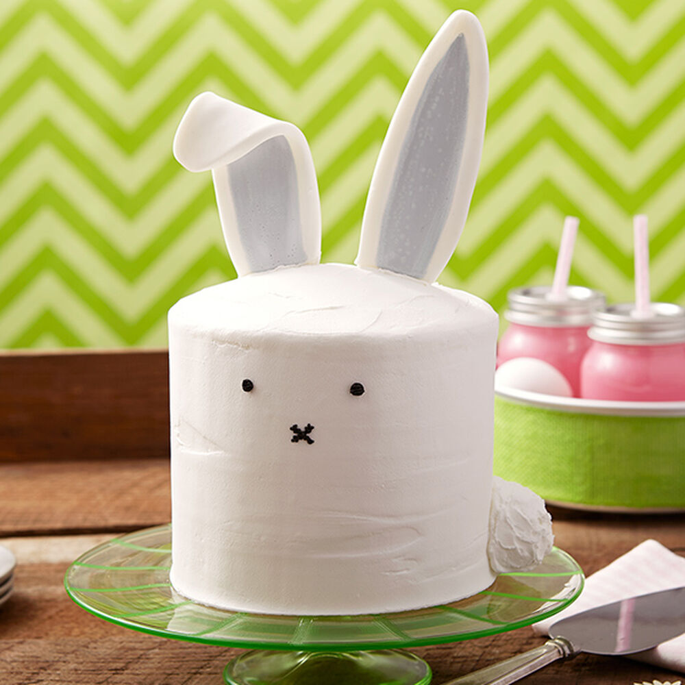 Floppy Ears Bunny Cake Wilton