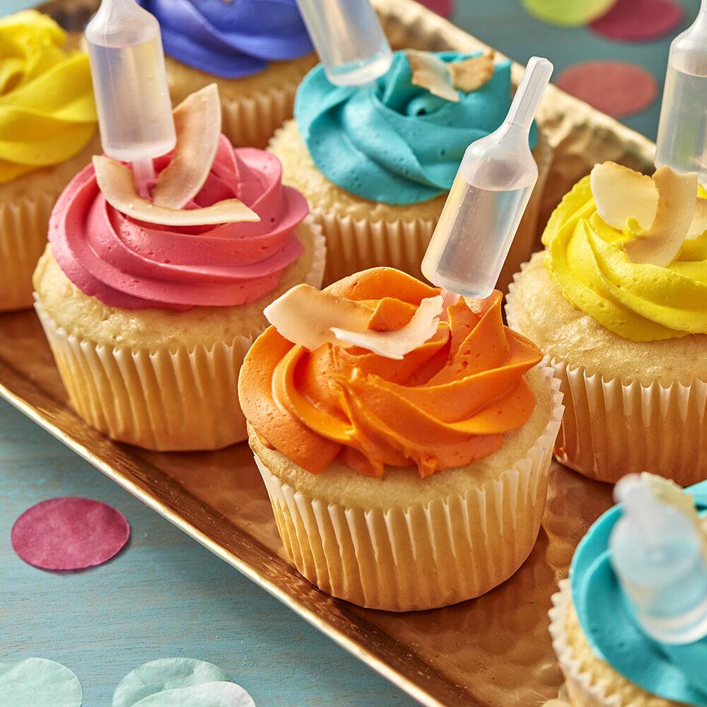 Decorating Ideas > Tropical Coconut Cupcakes  Wilton ~ 235854_Cake Decoration Theme Ideas