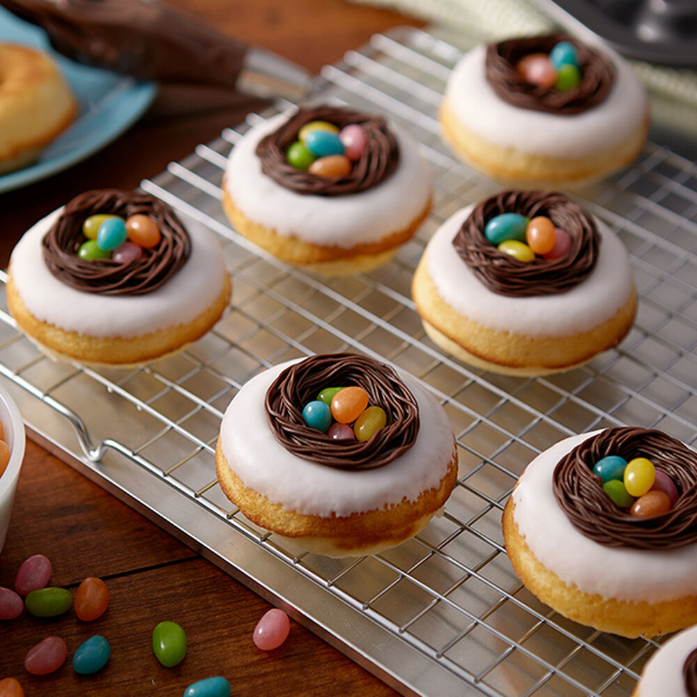 Easter Egg Nest Donuts Wilton