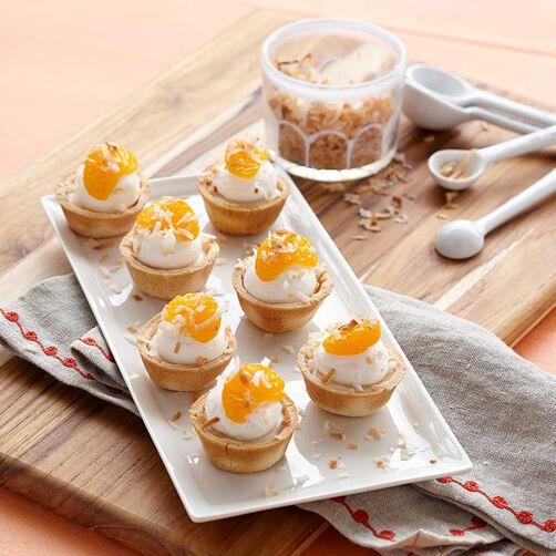 Coconut Orange Tartlets