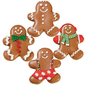 Snow Easy Gingerbread Boy Cookies