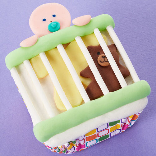 Breakout Baby Cupcakes