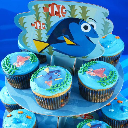 Wilton Finding Dory Cupcakes