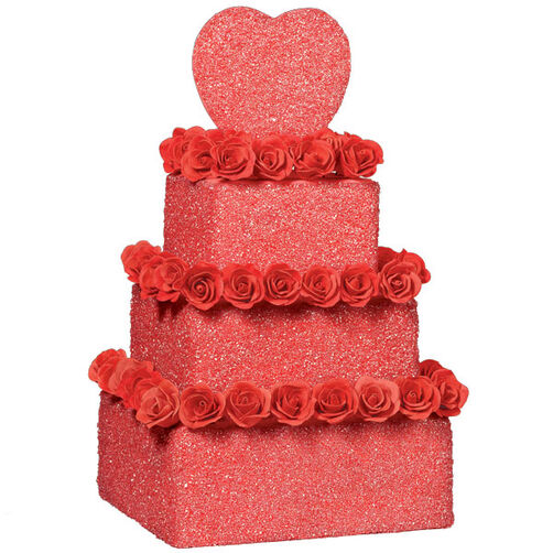 Scarlet Sparkle Cake