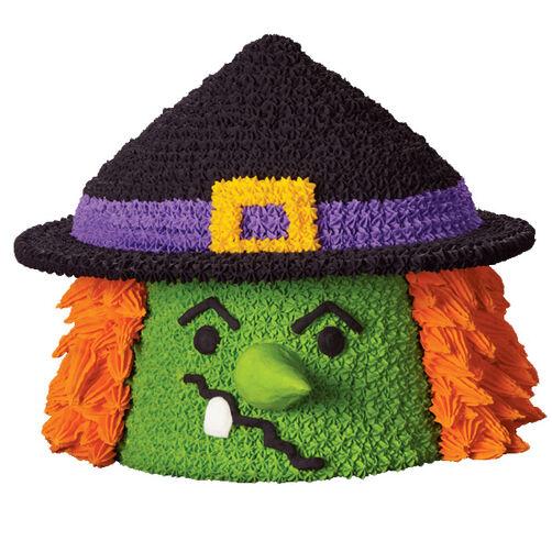 Wacky Witch Cake