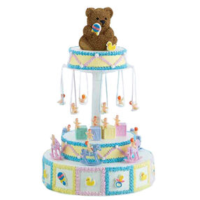 Baby Go Round Cake